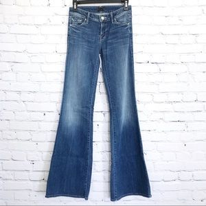Mother The Wilder Jeans Flare Medium Kitty